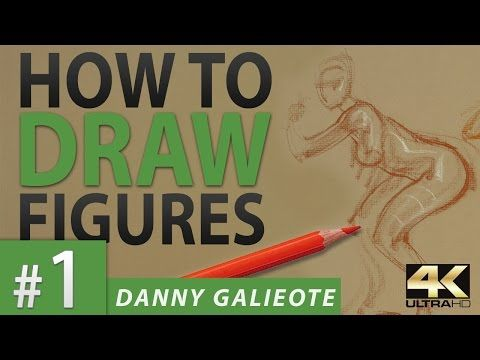 How to Draw the Figure with Danny Galieote after DLDS #1 (Ultra HD 4k) Speed Drawing Demonstration - YouTube