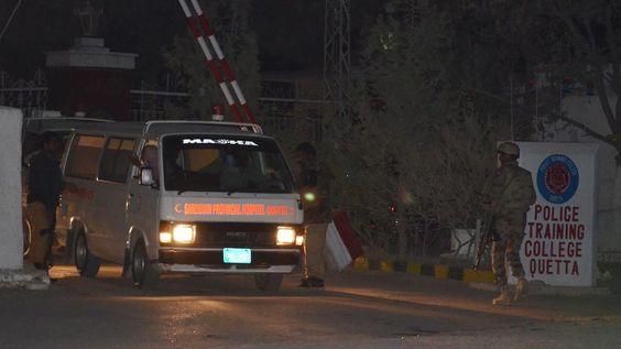 Geiselnahme in Pakistan: 60 Menschen bei Angriff auf Polizeischule getötet