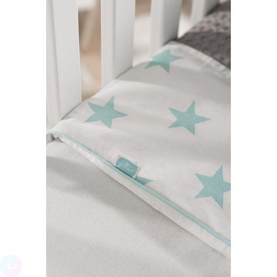 babylaken met jadekleurige ster