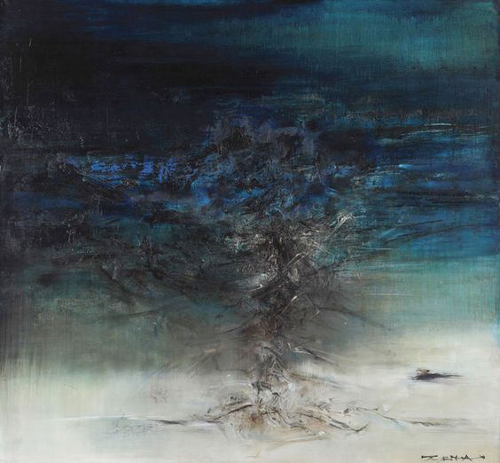Zao Wou-Ki Paintings: 1950's - 1960's - De Sarthe Gallery: