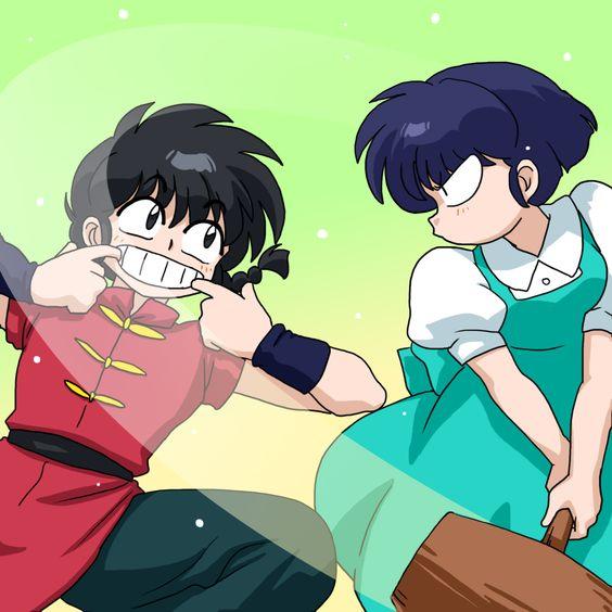Ranma y Akane ~ Fansite:http://eluniversoderanma.wix.com/eluniversoderanma…