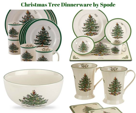 Christmas Tree Dinnerware by Spode