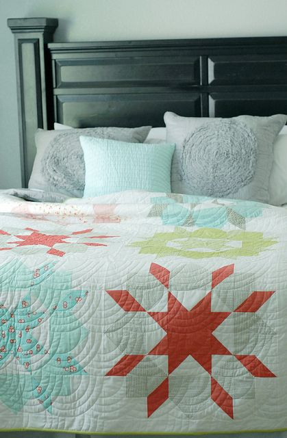 Swoon Quilt Pattern by Camille Roskelley: