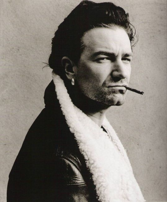 Bono with cigar