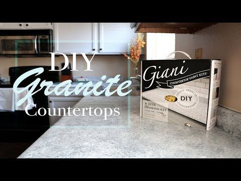 Diy Granite Countertop Giani How To Tutorial And Review With 3