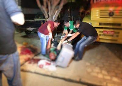 Caminhoneiro é assassinado com 15 tiros na cabeça: ift.tt/1s6psGh