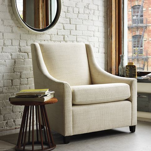 covered with soft topgrain leather this comfortably curvy take on the classic reading chair makes it a popular place to kick back with a book