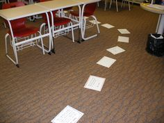 The Human Board Game to Review for Exams totally going to try this tomorrow