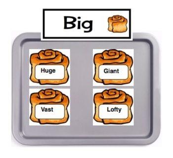 Synonym Rolls:  A Fun Printable Activity To Teach Word Choice