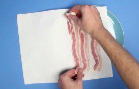 bacon micro-ondas