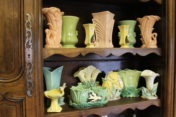 McCoy vase collection