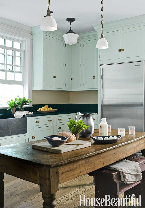 Neue Küche, New York and Küchenschränke on Pinterest