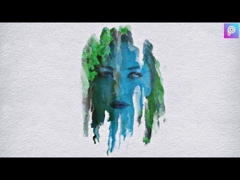 Beautiful Watercolor Portrait Effect Photoshop Tutorial