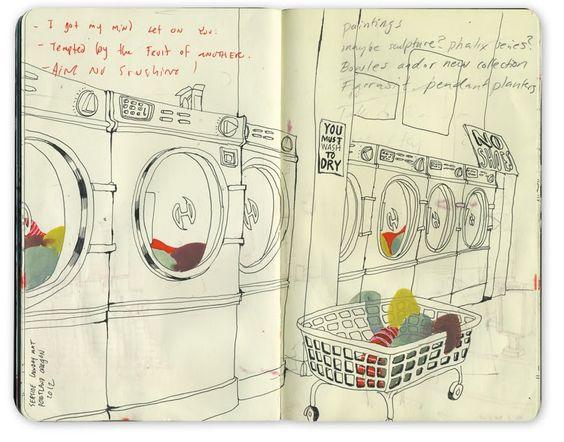 visual journal by Bryce Wymer