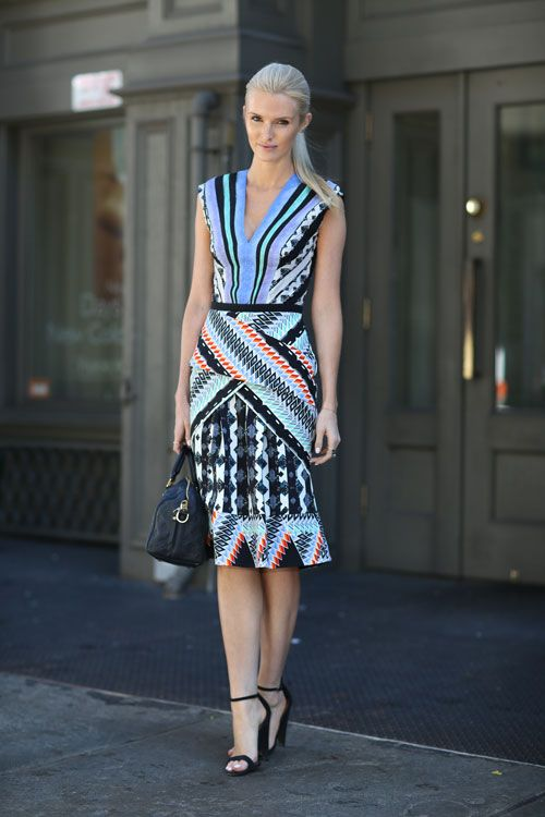 New York Fashion Fashion Weeks And Street Styles On Pinterest