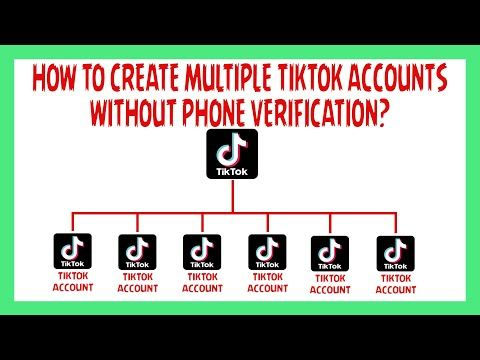 How To Create Multiple Tiktok Accounts Without Phone Number Verification 2019 Youtube Multiple Instagram Accounts Who Viewed My Facebook Phone