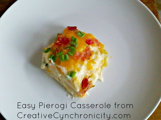 Pierogi Casserole Recipe: Must make a vegetarian version