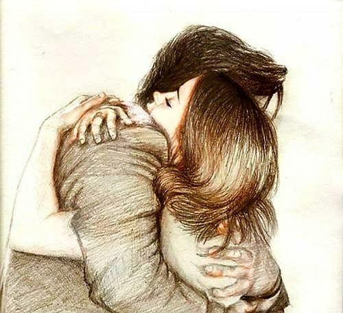 Pin De Nada Nadie En Am Re Dibujos De Abrazos Imagenes De Abrazos Ilustracion De Abrazo