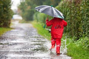 Eltern und Kinder erleben den Herbst draussen vielfältig.
