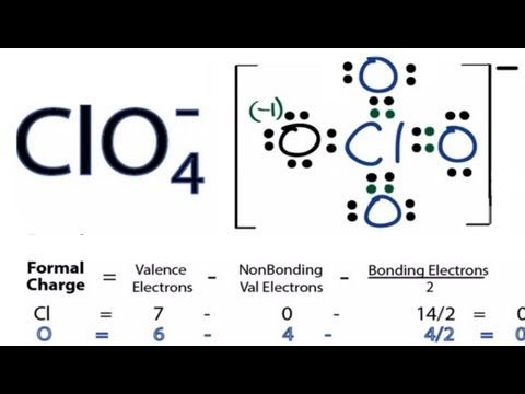 126 Clo4 Lewis Structure How To Draw The Lewis Structure For Clo4 Perchlorate Ion Youtube Chemistry Classroom Teaching Chemistry Chemistry Worksheets To draw the lewis structure, we put the central atom with its valence electrons, surrounded by their binders. 126 clo4 lewis structure how to