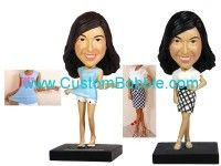 Personalized Bobblehead At Custom Bobble we believe that no two gifts should be similar. Bobbleheads fortunately, are the most unique present you get for your beloveds. We are equipped with the expertise to customise any design of bobbleheads to look exactly like the receiver of your gift! We all love looking at ourselves, who wouldn't enjoy this amazing gift? http://www.custombobble.com/