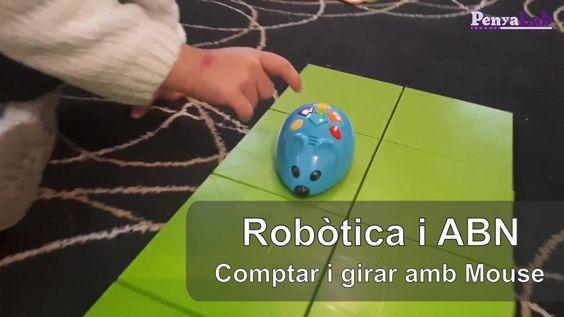 Comptar i girar amb el robot Mouse