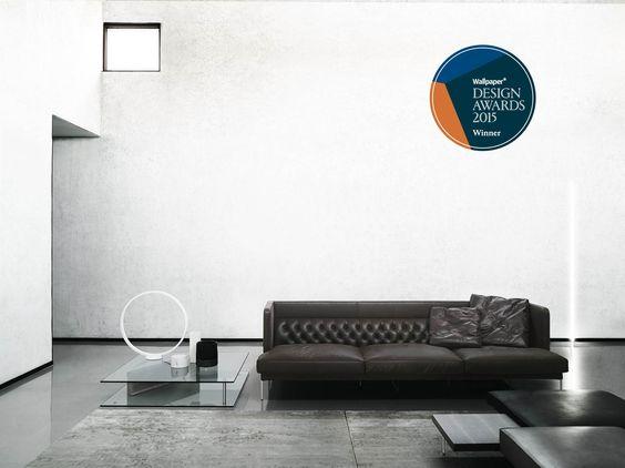 LIPP sofa by Piero Lissoni for Living Divani. Wallpaper Design Award 2015.