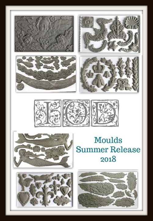 Moulds 2018 Summer Release Iron Orchid Designs Trending Decor Diy Home Decor