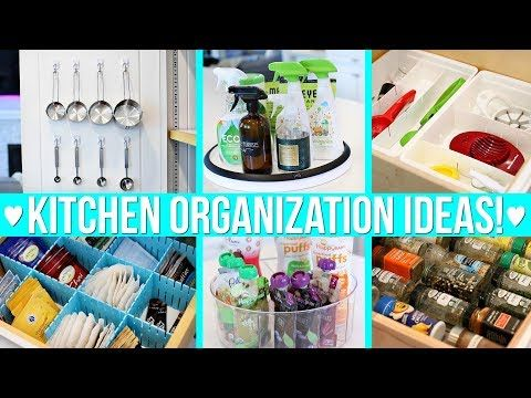 12 Kitchen Organization Ideas Youtube Kitchen Organization