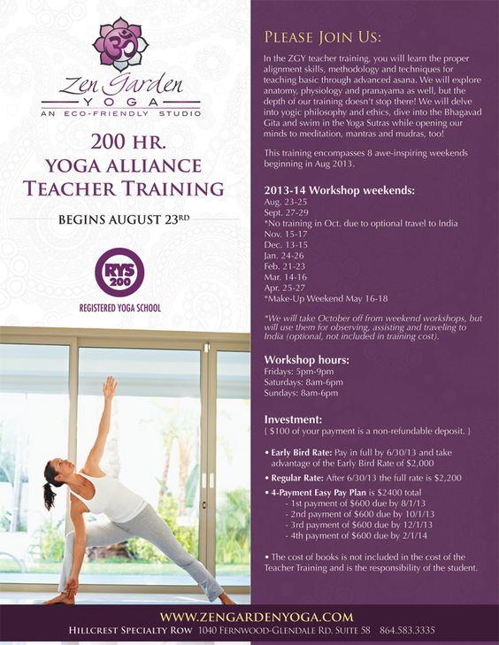 yoga teacher training flyer - Google Search ヨガ・アジアン - yoga flyer
