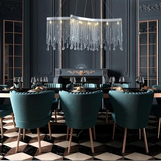 Rectangular Crystal Chandelier Dining Room Crystal Chandeliers Dining Room Chandelier Crystal Chandelier Dining Room Dining Room Pendant