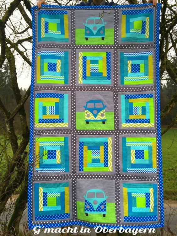 Es ist vollbracht! Mein 365-Tage-Quilt ist fertig! http://gmachtinoberbayern.blogspot.de