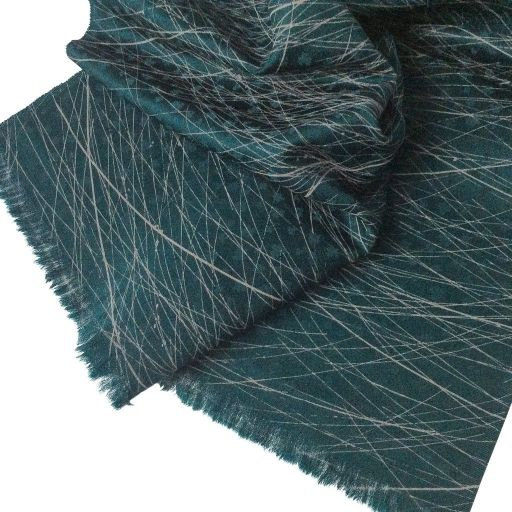 oday's feature of the day is Mr Dulwich. Based in South London, he combines exquisite craftsmanship with timeless style to create luxury scarves like this one. Silk, in pretty kingfisher green with a meadow grass motif. We think it's perfect for any time of the year, but especially in spring, as the green meadow grasses come out to play.  Check him out on Blue Patch! http://bit.ly/1JVzqCp