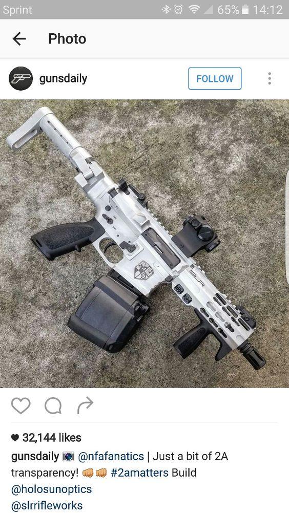 Nice custom AR 15 SBR build