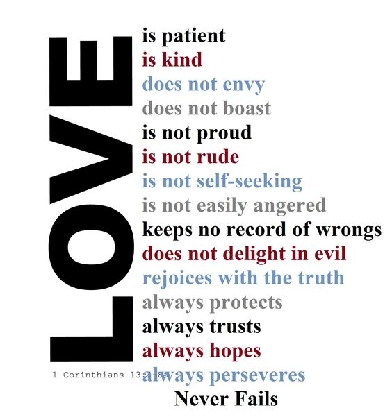 Love Is Patient Love Is Kind Quote: Pinterest • The World's Catalog Of Ideas