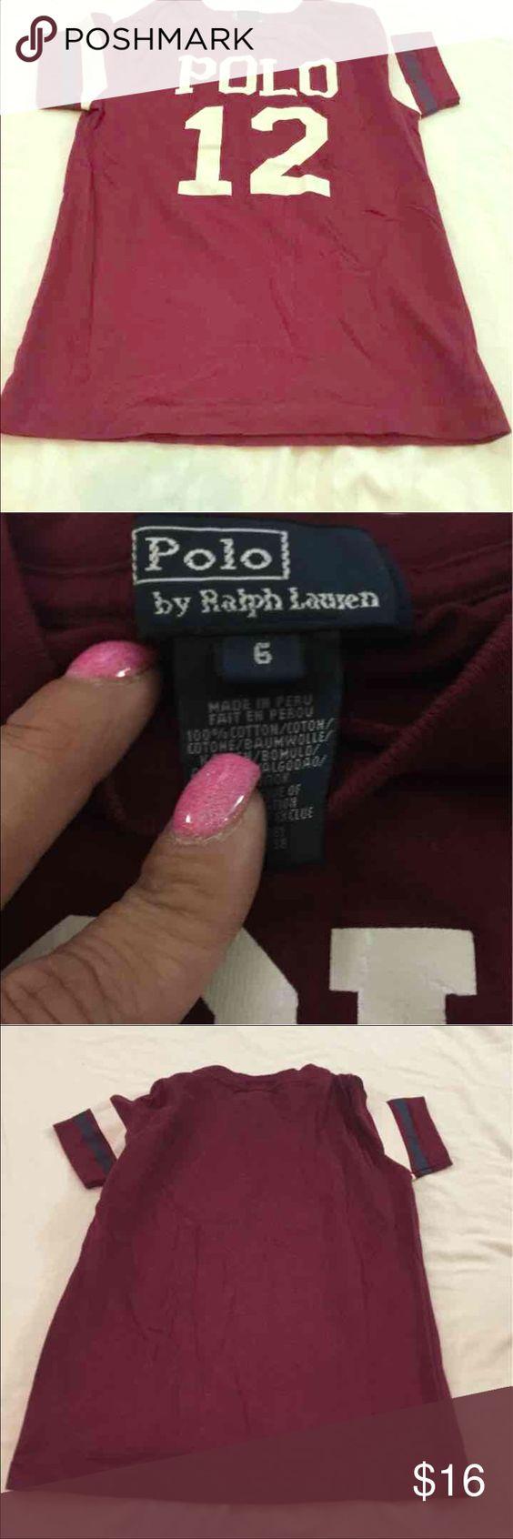 Polo tee shirt boys Sz 6 Boys nice polo tee Polo by Ralph Lauren Shirts & Tops Tees - Short Sleeve
