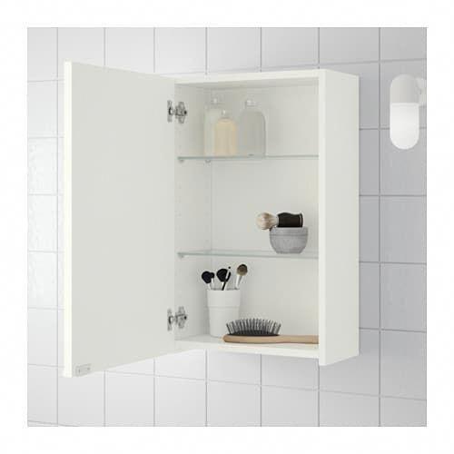 Lillangen Wall Cabinet White 15 3 4x8 1 4x25 1 4 Ikea Bathroom Wall Cabinets Wall Cabinet Mirror Cabinets