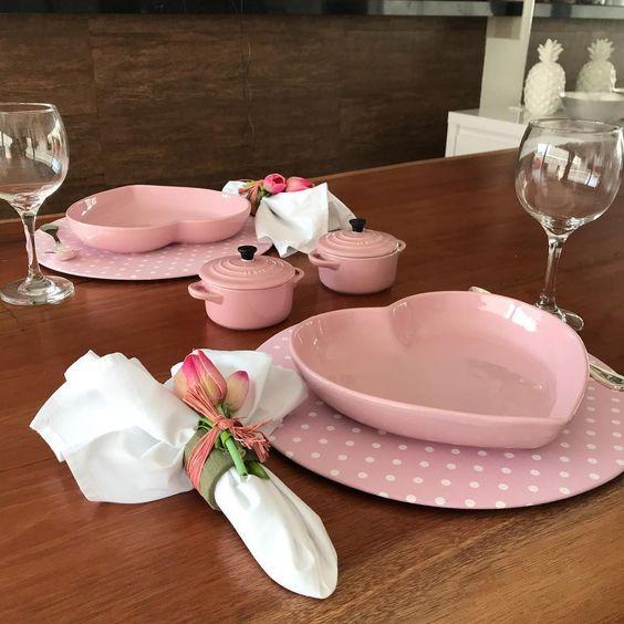 Mesa Dia dos Namorados: café da manhã!