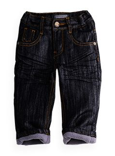 lined fashion jean