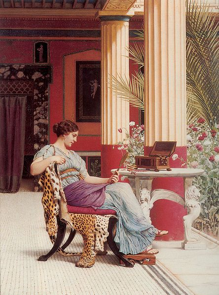 John William Godward (England, 1861–1922), The Jewel Casket, 1900