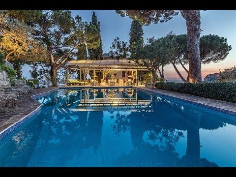 Enchanting Amalfi Coast Hilltop Estate In Ravello Italy Youtube