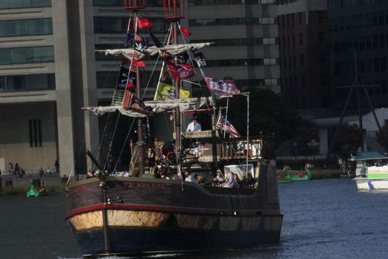 The Inner Harbor is a historic seaport, tourist attraction, and landmark of the city of Baltimore, Maryland, USA