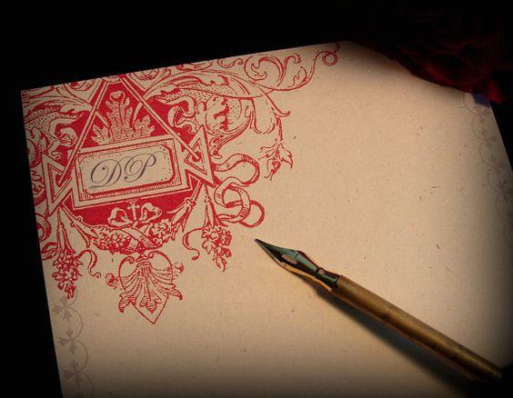 Handmade writing paper
