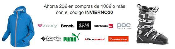 ¡Código Promocional! Descuento de 20 euros con el código INVIERNO20 en Amazon.es