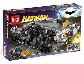 LEGO Batman Set #7888 Tumbler: Joker's Ice Cream Surprise