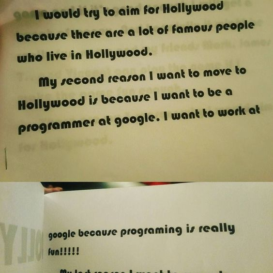 #Google  be ready for my little man.  He knows Hollywood is in California so he assumed Google is in the same city. Lol #closeenough  #futureprogrammer #pythonprogrammer #linux by hudaphakcares