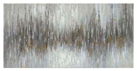 PEINTURE ABSTRAITE ZAAHIR : Peinture à l`huile abstraite, modèle Zaahir.