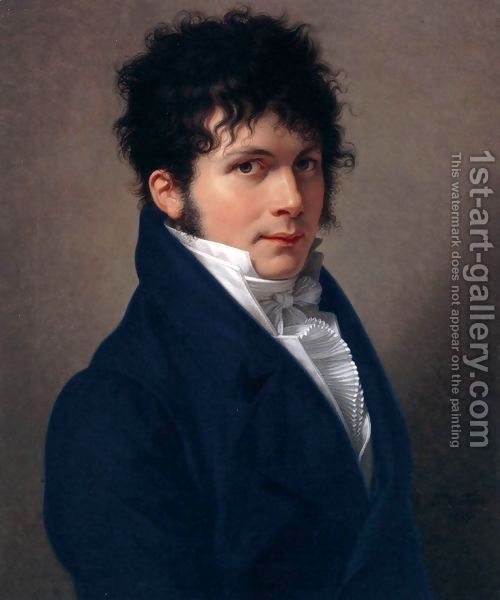 Portrait of a Man 1809 by Francois-Xavier Fabre