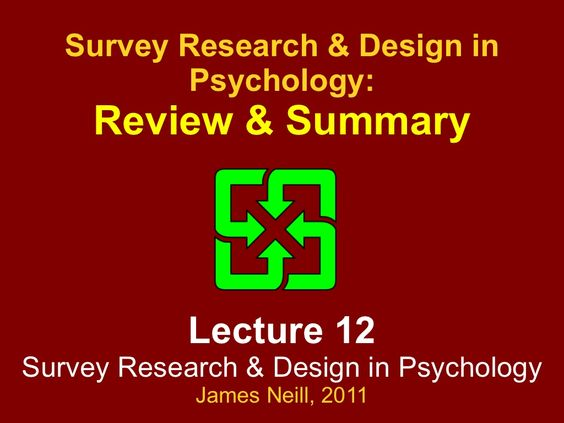 review-of-research-methods-design-in-psychology by James Neill via - survey researcher sample resume