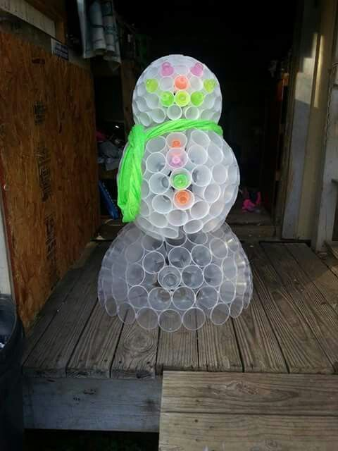 Pinterest the world s catalog of ideas for Cup snowman